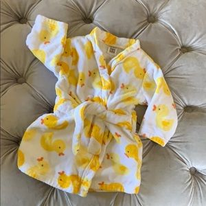 Sold out Carter's Rubber Duck robe (0-9 months)